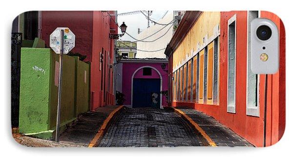 Caribbean Colors Of San Juan Phone Case by John Rizzuto