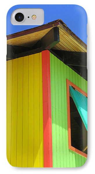 Caribbean Corner 2 IPhone Case by Randall Weidner