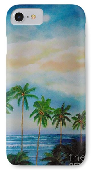 Caribbean Dream IPhone Case by Nereida Rodriguez