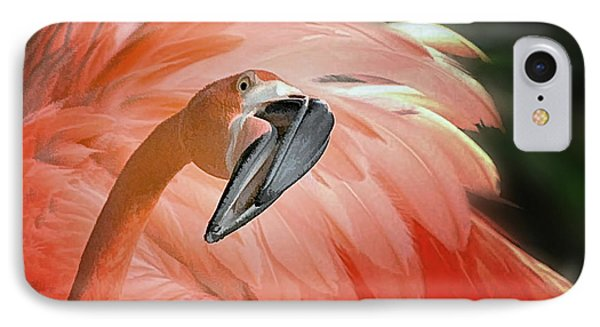 Caribbean Flamingo IPhone Case