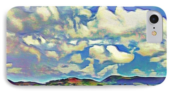 Caribbean Island Landscape - Square IPhone Case by Lyn Voytershark