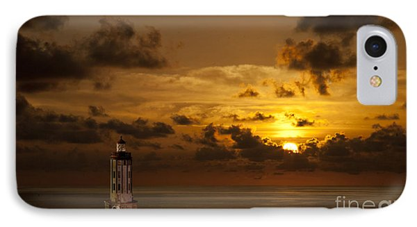 IPhone Case featuring the photograph Caribbean Lighthouse by Shirley Mangini