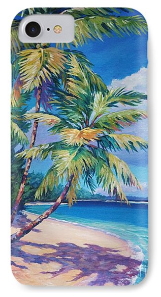 Caribbean Paradise IPhone Case by John Clark