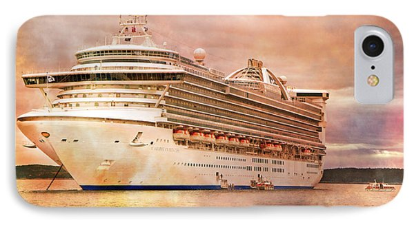 Caribbean Princess In A Different Light IPhone Case