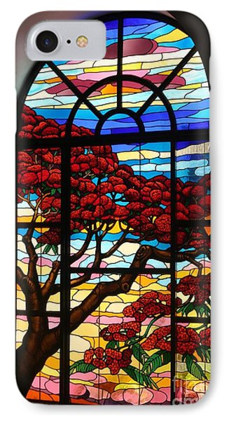 IPhone Case featuring the photograph Caribbean Stained Glass  by The Art of Alice Terrill