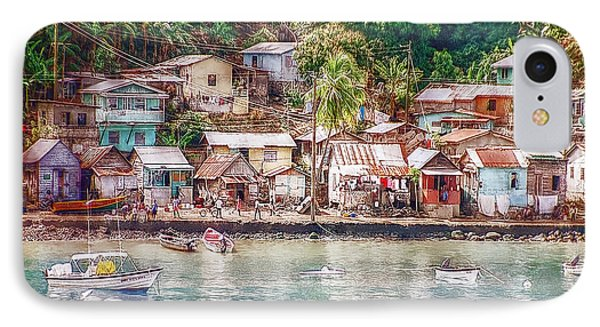 IPhone Case featuring the photograph Caribbean Village by Hanny Heim