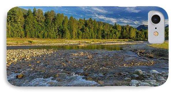 Cariboo Creek In Burton, British IPhone Case