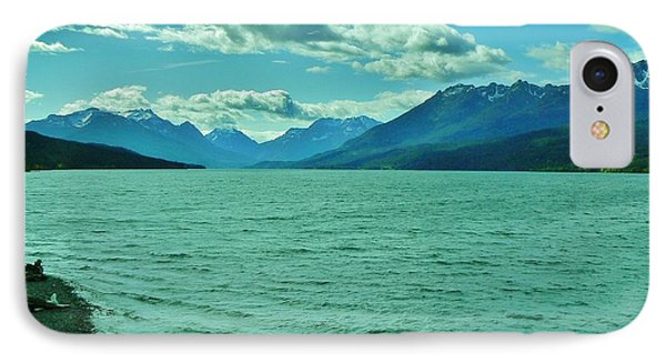 Cariboo Lake View IPhone Case by Barbara St Jean