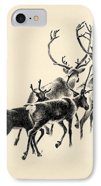 Caribou IPhone Case
