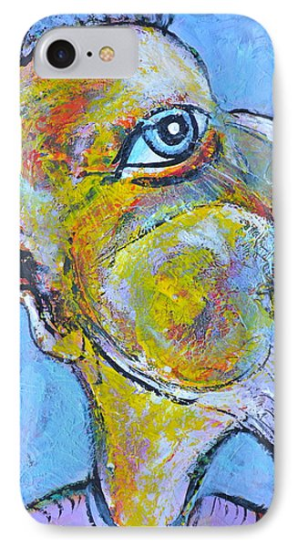 Caricature Of A Wise Man Phone Case by Ion vincent DAnu
