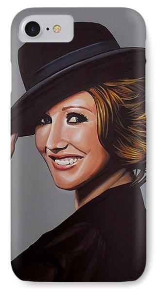 Carice Van Houten Painting IPhone Case