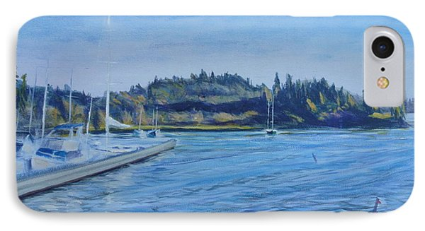 Carilllon Point Marina Phone Case by Charles Smith