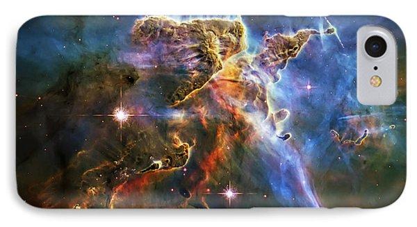 Carina Nebula 6 Phone Case by Jennifer Rondinelli Reilly - Fine Art Photography