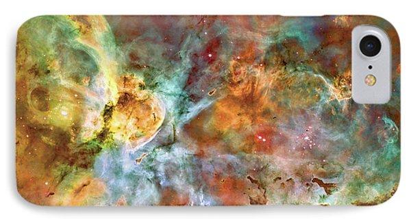 Carina Nebula - Interpretation 1 Phone Case by Jennifer Rondinelli Reilly - Fine Art Photography