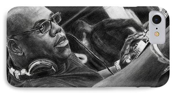 Carl Cox Pencil Drawing IPhone Case