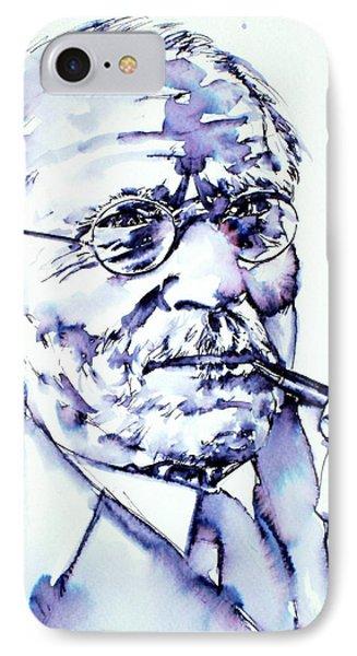 Carl Gustav Jung - Portrait IPhone Case