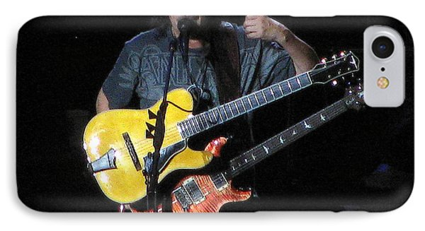 Carlos Santana IPhone Case by Melinda Saminski