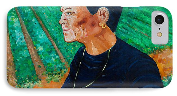 IPhone Case featuring the painting Carmela by Giovanni Caputo
