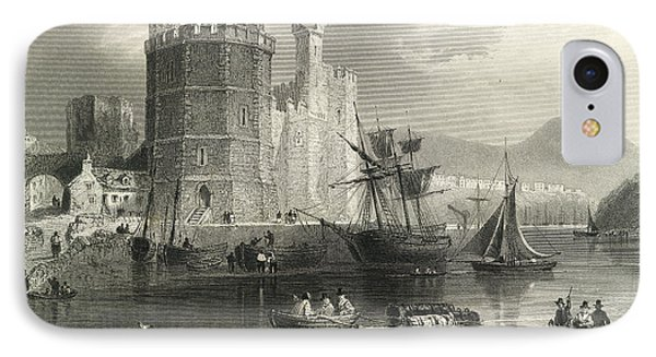 Carnarvon Castle IPhone Case by British Library