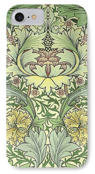 Carnations Design Phone Case by William Morris
