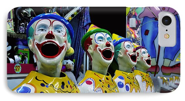 Carnival Clowns Phone Case by Kaye Menner
