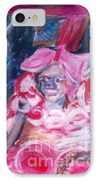 IPhone Case featuring the painting Carnival Queen by Fereshteh Stoecklein