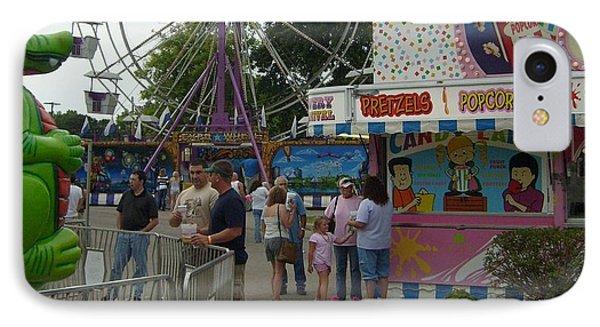 Carnival Ferris Wheel Phone Case by Ann Willmore