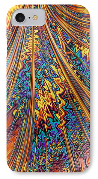 Carnival Flow Abstract IPhone Case by John Edwards