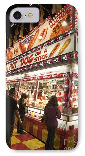 Carnival Hot Dog On A Stick Phone Case by Jason O Watson