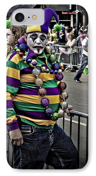 Carnival Jester Phone Case by Ray Devlin