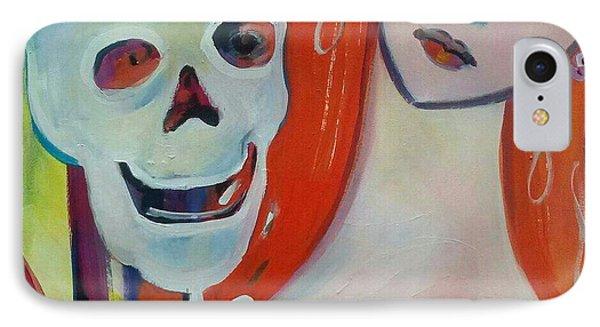 Carnival Of Bones Phone Case by Marlene LAbbe