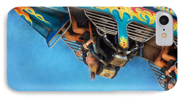 Carnival - Ride - The Thrill Of The Carnival  Phone Case by Mike Savad