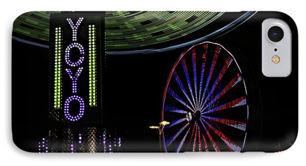 Carnival Rides IPhone Case