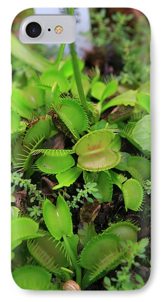 Far North Queensland iPhone 7 Case - Carnivorous Plants Such As These Venus by Paul Dymond
