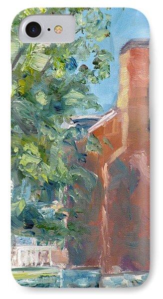 Carnton Plantation On A Spring Morning Phone Case by Susan E Jones
