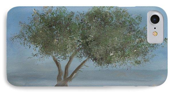 Carob Tree On Mt. Arbel  Phone Case by Rita Adams