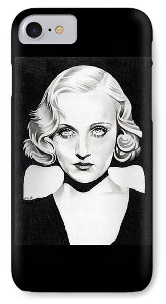 Carole Lombard IPhone Case by Fred Larucci