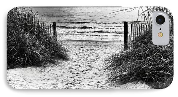 Carolina Beach Entry IPhone Case
