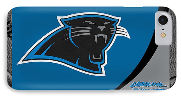 Carolina Panthers IPhone Case by Joe Hamilton