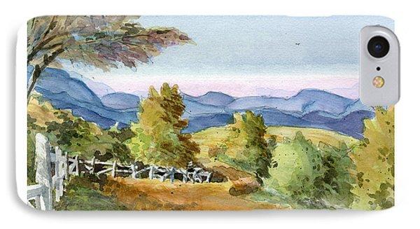 Carolina Piedmont High Meadow IPhone Case