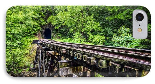 Carolina Railroad Trestle Phone Case by Debra and Dave Vanderlaan