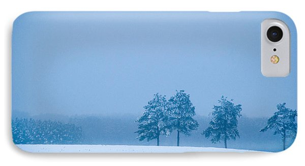 Carolina Snow IPhone Case by Beverly Stapleton