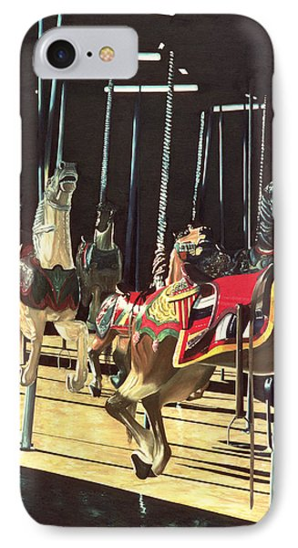 Carousel IPhone Case by Anthony Butera