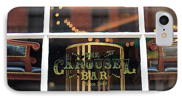 Carousel Bar IPhone Case by Heather Green