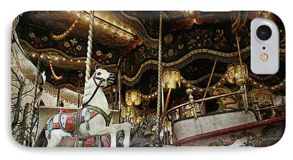 IPhone Case featuring the photograph Carousel by Barbara Orenya