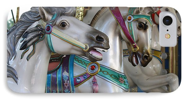 Carousel IPhone Case by Donna Walsh