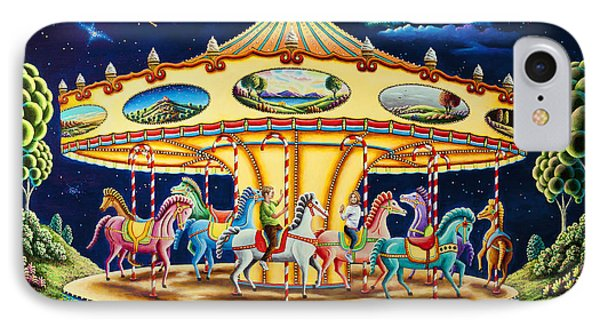 Carousel Dreams 3 IPhone Case by Andy Russell