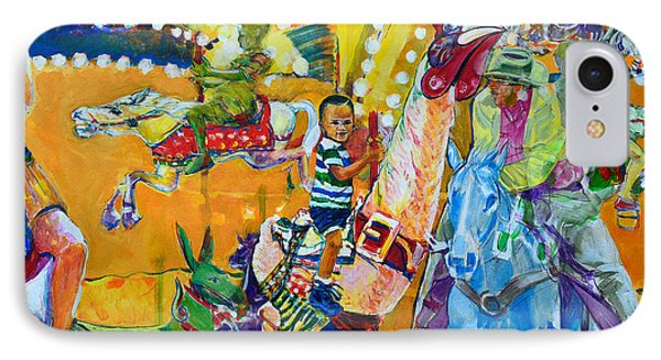 Carousel Dreams Phone Case by Charles M Williams
