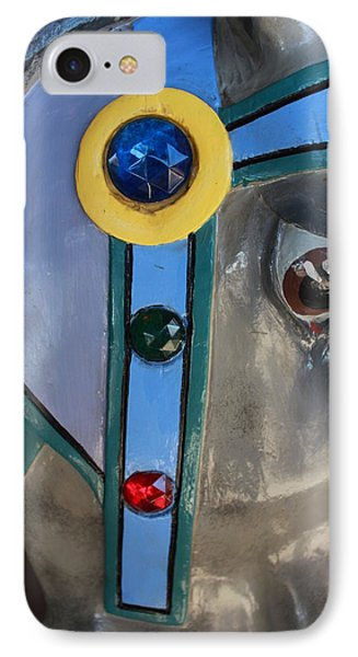 IPhone Case featuring the photograph Carousel Horse by Diane Alexander