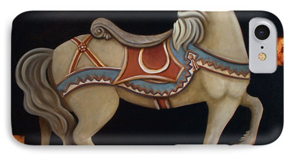 Carousel Horse Phone Case by Gerry High